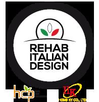 Rehab Italian Design Logo